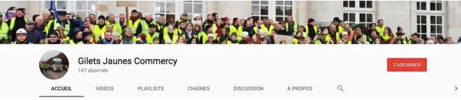 La chaîne YouTube des « gilets jaunes » de Commercy. À ne pas manquer, les revendications sur l'air du «Chant des Partisans».