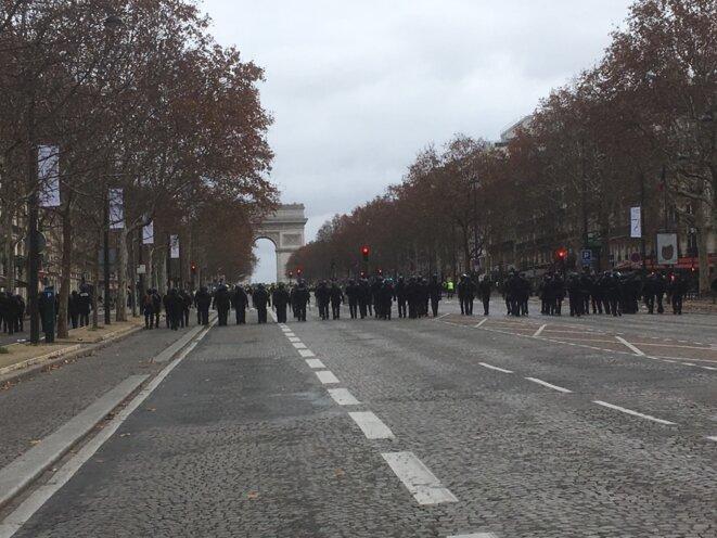 Avenue de la Grande armée. © L. D.