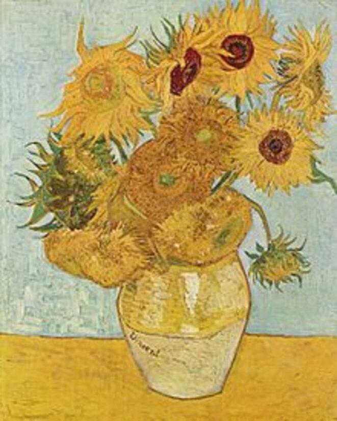 Tournresols, Vincent van Gogh, c. 1888 Bayerischen Staatsgemäldesammlungen, Munich
