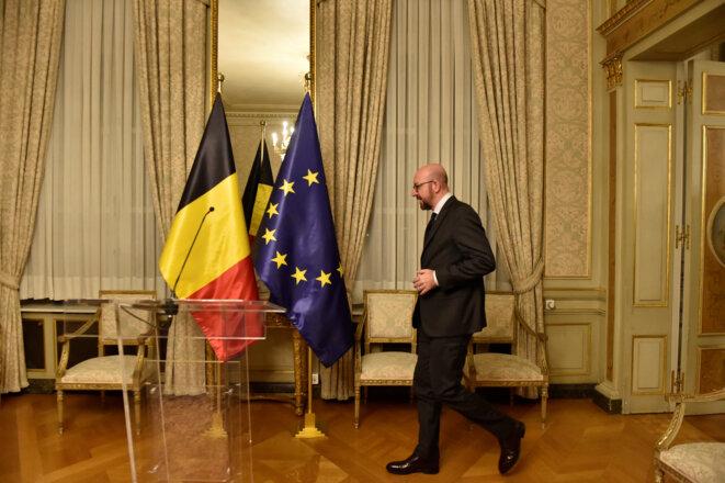 Charles Michel samedi 8 décembre à Bruxelles © Reuters / Eric Vidal.