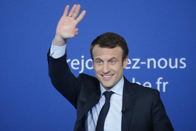 Emmanuel Macron © Central France