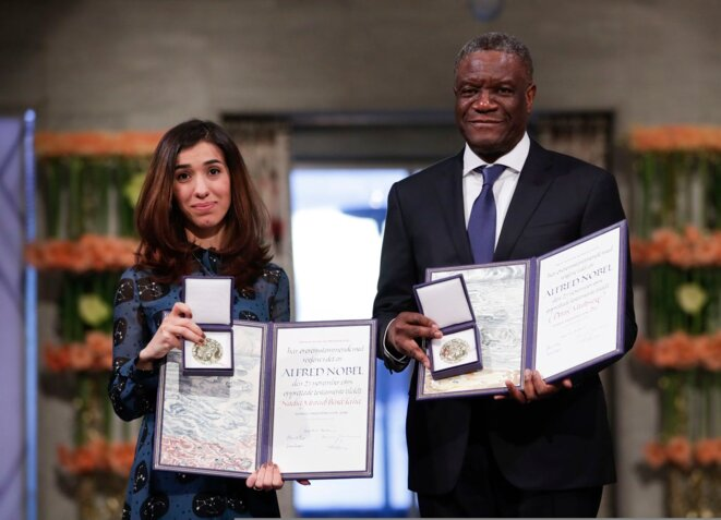 Mukwege © Prix Nobel de la Paix
