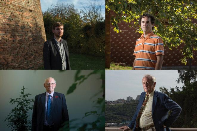 Arnaud de Rigné, Benoît Rittaud, Nils Axel Mörner et Stuart Agnew. © Rebecca Marshall