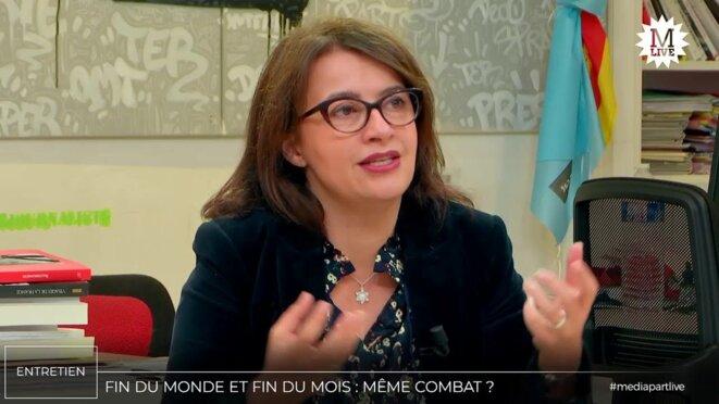 Cécile Duflot © Mediapart