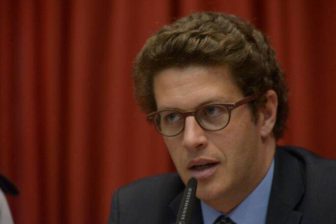 Ricardo de Aquino Salles © Maurício Garcia de Souza (Assemblée Législative de São Paulo). En ligne au lien suivant: https://brasil.elpais.com/brasil/2018/12/09/politica/1544379