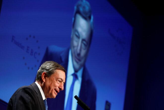 Mario Draghi, président de la BCE. © Reuters