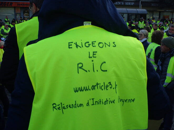 """""""Exigeons le R.I.C."""" © Alain Bonneau"""