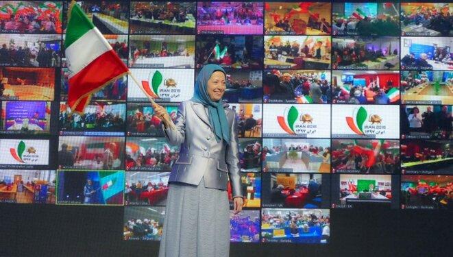 """""""Vous seriez mieux inspirés de respecter la volonté du peuple iranien pour renverser la dictature et instaurer la liberté et la démocratie en Iran."""""""