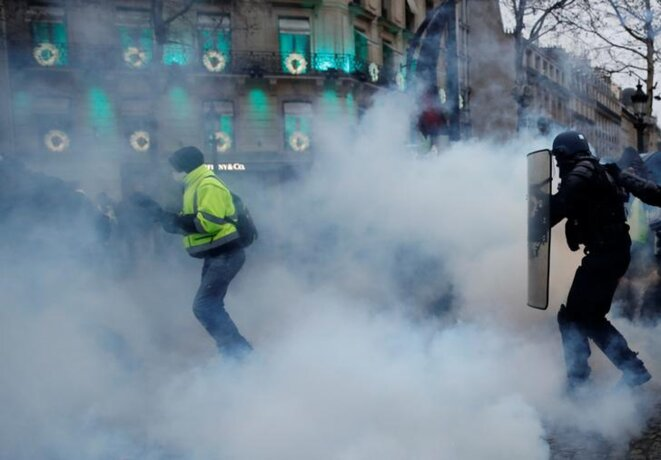 À Paris, le 15 décembre. © Reuters