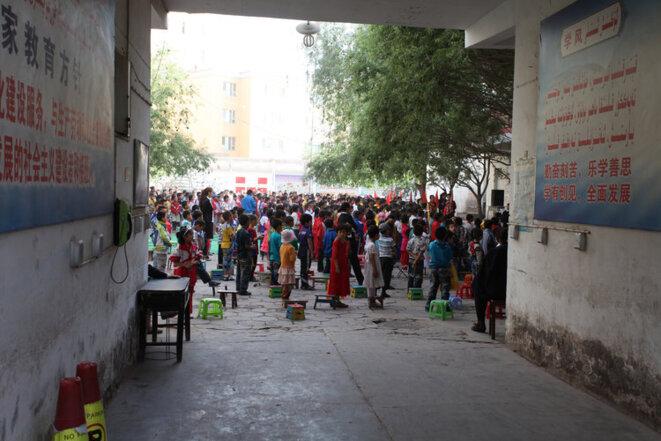 Dans une école à Kachgar © rcmar/Flickr