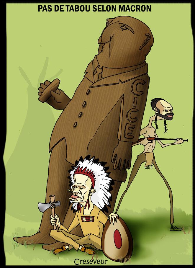 macron-et-le-nouveau-totem
