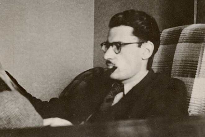 Maurice Nadeau, en 1945 © Éditions Maurice Nadeau