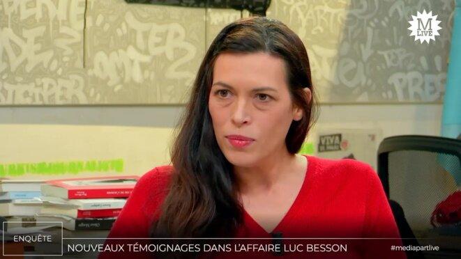 Karine Isambert © Mediapart