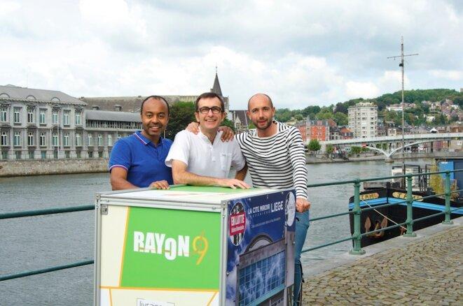 Les trois co-fondateurs de RAYON9