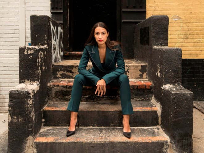 Alexandria Ocasio-Cortez. © Instagram/photo Gillian Laub