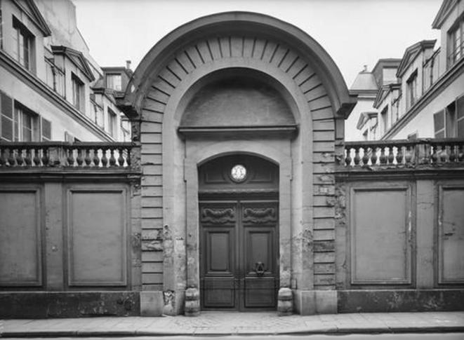 Hôtel de Cavoye.