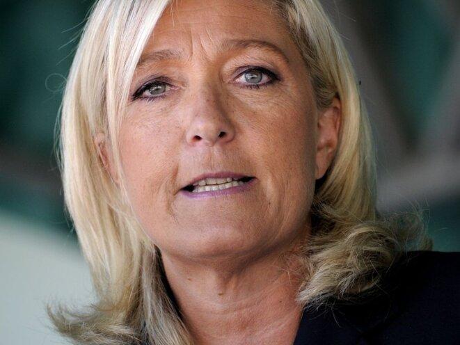 Mme le Pen gagnante © www.closemag.fr