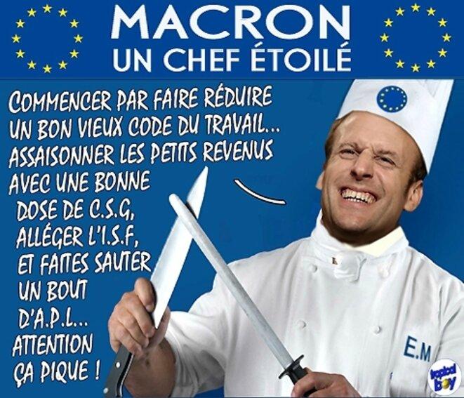 les serviteurs de Macron 1er