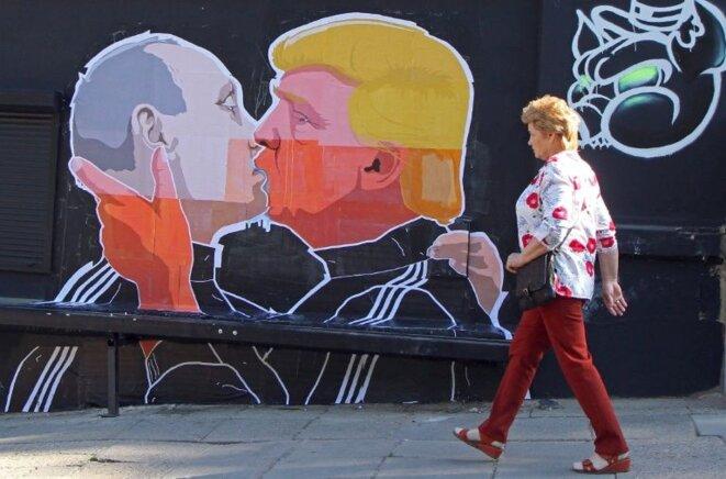 le Chien Jaune et Poutine Tsar