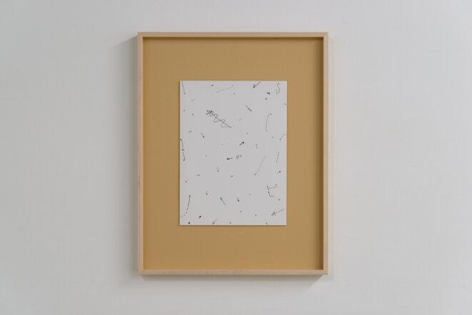 "Jay Chung et Q Takeki Maeda, ""Untitled (Arrows)"", Collage, 2017 © Jay Chung et Q Takeki Maeda"