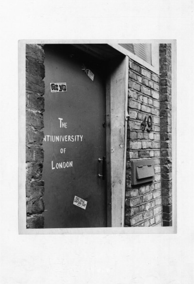 Photographe et date inconnus, Anti-University London, courtesy Bob Cobbing estate. © Bob Cobbing estate