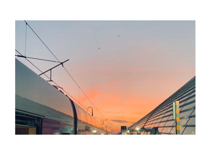 Gare tgv france le 27/12/2018 © Pierre VALQUIRI