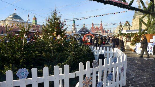 L'entrée du marché de Noël © CB