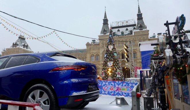 Temple du luxe... Et Jaguar à gagner ? © CB