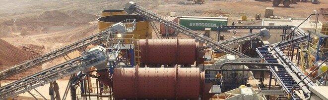 La mine d'or de Kodiéran est à l'arrêt depuis octobre 2013. Sa société exploitante, Wassoul'or, a déposé le bilan en août 2014. © Pearl Gold