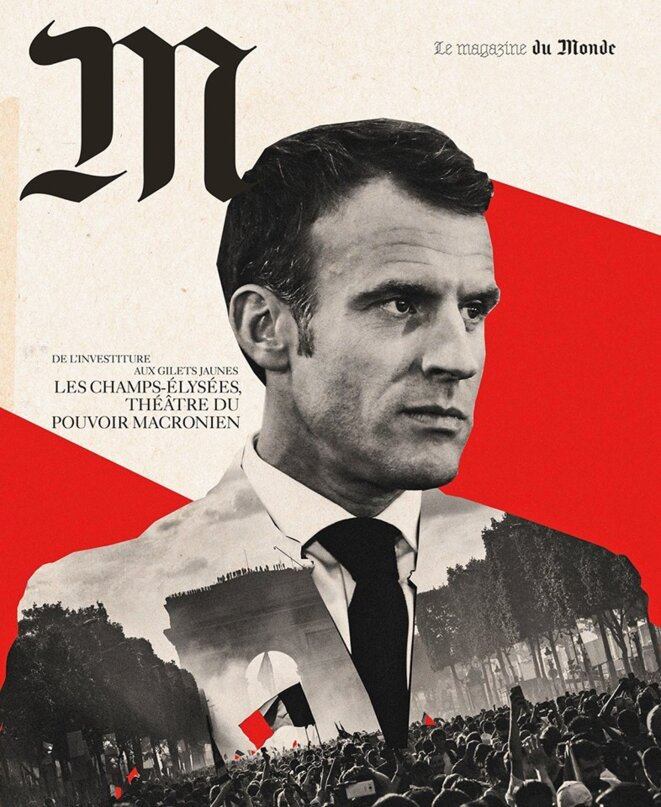 """Une de """"M"""" le magazine du monde ..."""