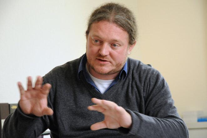 Olivier Voinnet en 2013. © ETH Zurich