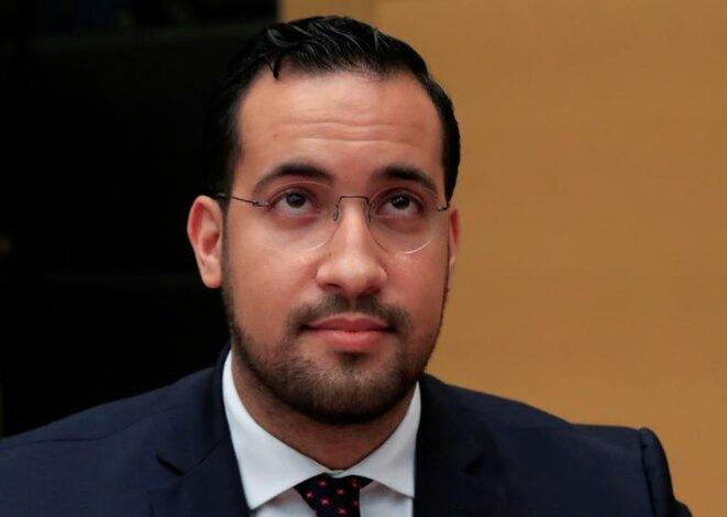 Alexandre Benalla au Sénat, le 19 septembre. © Reuters