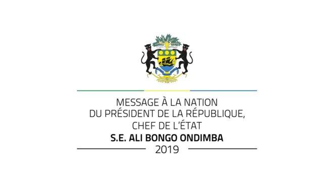Annonce Discours Ali Bongo © Présidence du Gabon