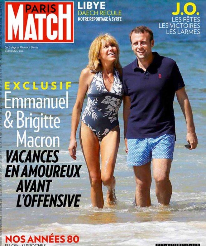Эммануэль и Бгигитт Макрон © Paris-Match