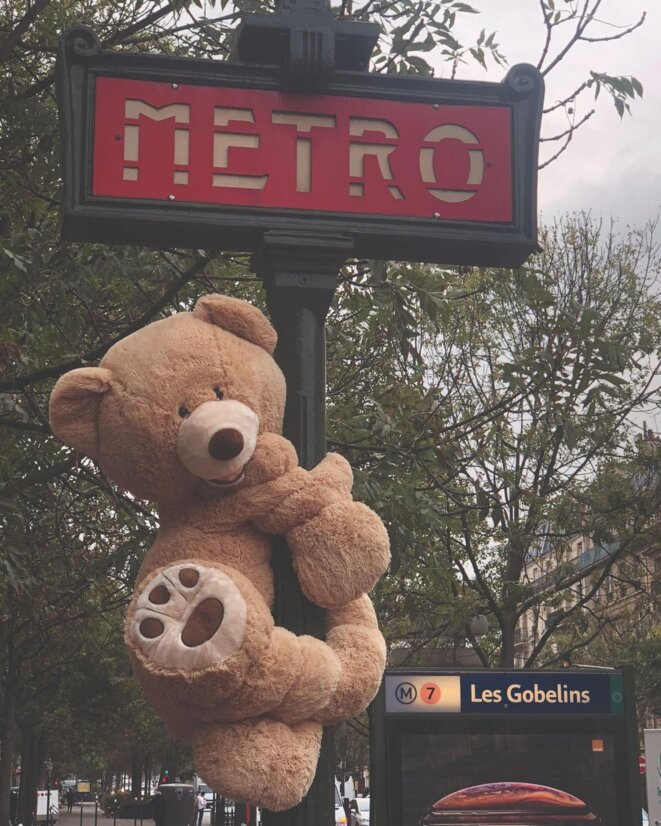 Climbing to catch the métro