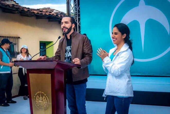 Nayib Bukele, candidat favori à la présidence d'El Salvador lors des élections du 3 février