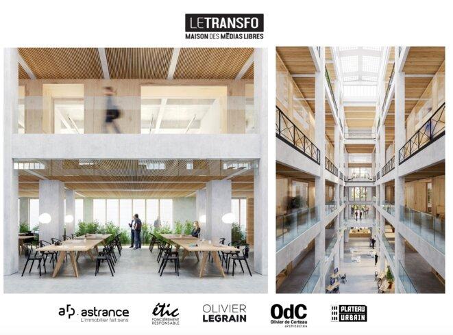 Vue imagée du projet Le Transfo