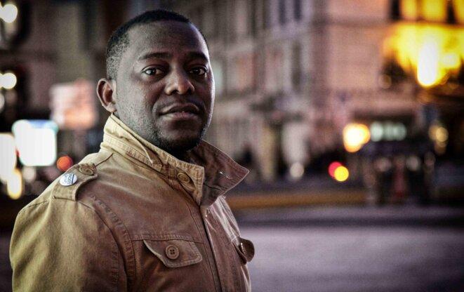 Bienvenu Matumo à Paris en janvier 2019 © Christophe Rigaud - Afrikarabia