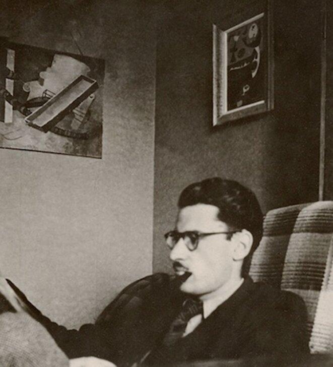Maurice Nadeau vers 1945.