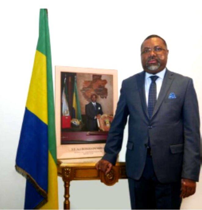 S.E.M. Flavien Enongoué, Ambassadeur, Haut Représentant de la République Gabonaise en France
