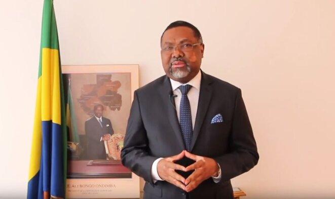 S.E.M. Flavien Enongoué, Ambassadeur, Haut Représentant de la République Gabonaise en France, Représentant permanent du Gabon auprès de l'Organisation internationale de la Francophonie (OIF), avec juridiction sur le Portugal, Andorre et Monaco