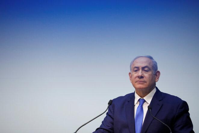 Benjamin Netanyahou à la Knesset, en décembre 2018. © Reuters