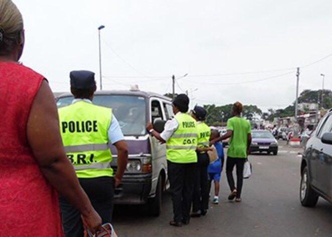 Racket police Gabon © Gabonreview