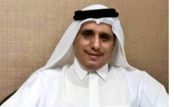 Le Prince Talal al-Thani, cousin de l'actuel Emir du Qatar