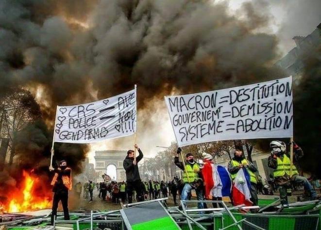 Manifestation à Paris en décembre 2018. © (dr)