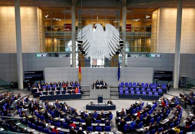 Le Bundestag en décembre 2018. © Reuters