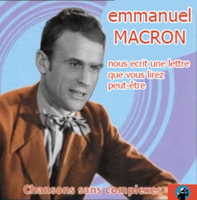 Emmanuel Macron nous écrit une lettre © Danyel Gill
