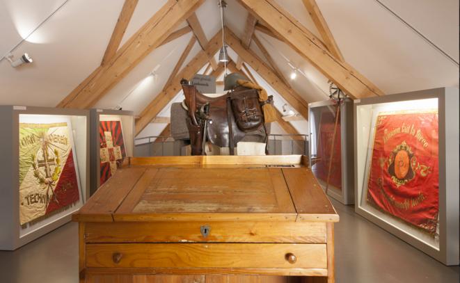 """Exposition """"1918 : Guerre et Paix"""", Nouveau Musée de Bienne, 2018. © Photo: P. Weyeneth, NMB Nouveau Musée de Bienne."""