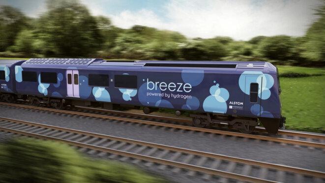 Un train H2 pour le Royaume-Uni © Alstom, 20190107