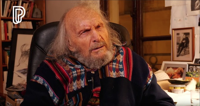 Ivry Gitlis. © Compte YouTube Philarmonie de Paris